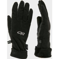 Outdoor Research Women's Fuzzy Sensor Gloves, Black