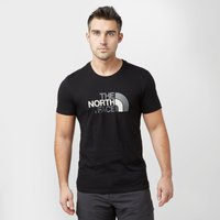 The North Face Men's Short Sleeve Easy T-Shirt, Black