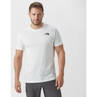 The North Face Mens Redbox Short Sleeve T-Shirt - White/Red/Black, White/Red/Black