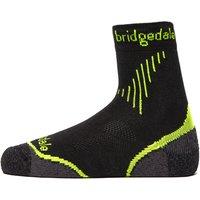 Bridgedale Mens Coolfusion Run Qw-ik Socks, Black