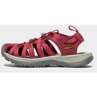 Keen Europe Women's Whisper Sandals, Red