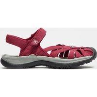 Keen Womens Rose Leather Sandal, Purple