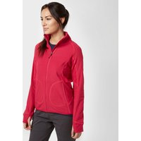 Berghaus Womens Prism Half-Zip Fleece, Pink