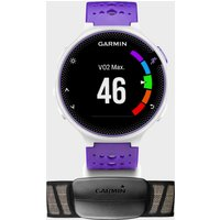 garmin forerunner 230 sports watch bundle, purple