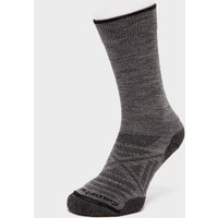 Smartwool Men's PhD Outdoor Light Crew Socks, Grey/Grey