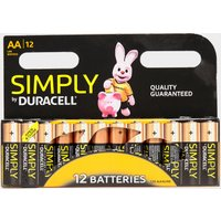 Duracell AA Batteries 12 Pack, Multi