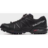 Salomon Women's Speedcross 4 Trail Running Shoes, Black