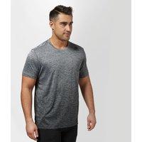 Adidas Mens FreeLift Gradient T-Shirt, Black/Grey
