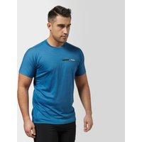 Adidas Mens Agravic T-Shirt, Mid Blue