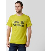 Jack Wolfskin Mens Pride Function T-Shirt, Yellow