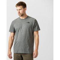 The North Face Mens Redbox T-Shirt, Mid Grey