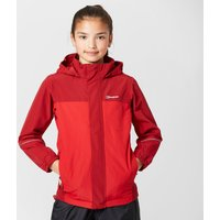 Berghaus Boys Carrock Waterproof Jacket, Red