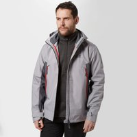 Jack Wolfskin Mens Refugio Jacket, Light Grey