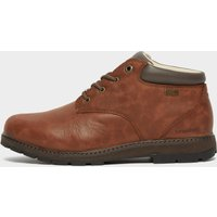 Brasher Mens Country Traveller Walking Shoes  Brown