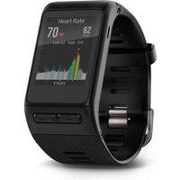 garmin vivoactive hr gps smartwatch (regular wristband)  black, black