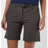 Brasher Womens Stretch Shorts, Mid Grey