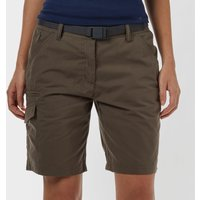 Brasher Womens Walking Shorts - Brown, Brown
