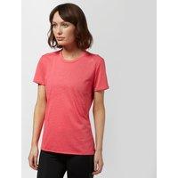 Adidas Womens Supernova Short Sleeve Tee, Pink