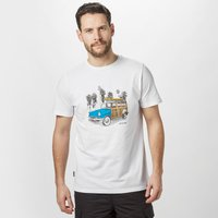 Animal Mens Woody T-Shirt, White