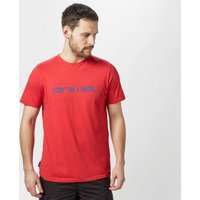 Animal Mens Marrly T-Shirt, Red