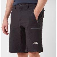 The North Face Mens Exploration Shorts, Black