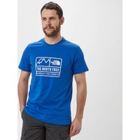 The North Face Mens Berkely Cali Tee, Mid Blue