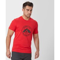 The North Face Mens Summit T-Shirt, Red