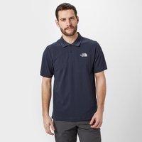 The North Face Mens Piquet Polo Shirt, Navy