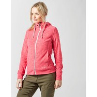 Peter Storm Womens Marley Hooded Fleece, Pink