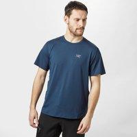 Arc'Teryx Mens Velox Crew T-Shirt, Dark Blue