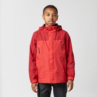 Peter Storm Boys Mercury Waterproof Jacket, Red
