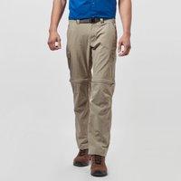 Columbia Mens Cascades Explorer Convertible Trousers, Tan