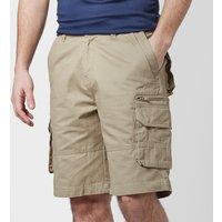 Peter Storm Mens Meteor Cargo Shorts - Beige/Stn, Beige/STN