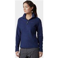 Brasher Womens Bleaberry Half Zip Fleece  Navy