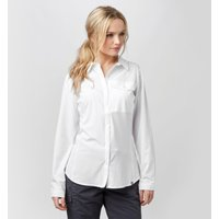 Brasher Womens Travel Shirt, White