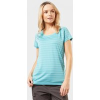 Sprayway Womens Malpais Striped T-shirt  Blue