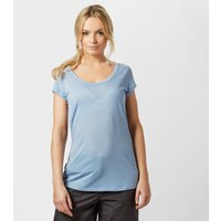 Icebreaker Womens Cool-Lite Spheria Short Sleeve T-Shirt, Light Blue