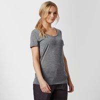 Icebreaker Womens Techlite Short Sleeve T-Shirt, Dark Grey