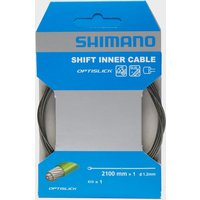 Shimano Stainless Steel Gear Inner Wire 1.2 x 2100, Black