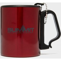 Summit Stainless Steel Lid Clip Mug, Red