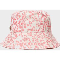 Weird Fish Womens Printed Bucket Hat, Pink