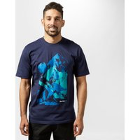 Peter Storm Mens Summit T-Shirt, Navy