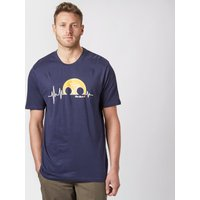 Peter Storm Mens Adrenaline T-Shirt, Navy