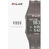 Polar V800 HR Multi-Sport Smart Watch, Black/HR