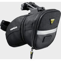 Topeak Aero Wedge Quick Clip Saddle Bag (Medium), Black