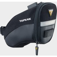 Topeak Aero Wedge Quick Clip Saddle Bag (Small) - Black/Sml, BLACK/SML