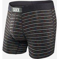 Saxx Men's Vibe Boxer Short, Black