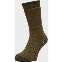 Brasher Mens Trekker Socks  Green
