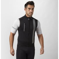 Spokesman Mens Ghost Cycling Gilet, Black