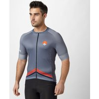 Spokesman Mens Climbers Cycling Jersey, Grey